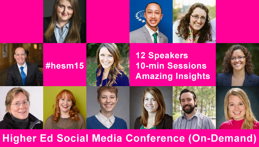 Higher Ed Social Media Conference 2015