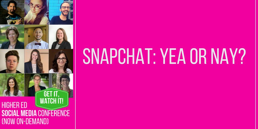 Snapchat: Yay or Nay?