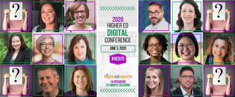 2020 Higher Ed Digital Marketing Conference