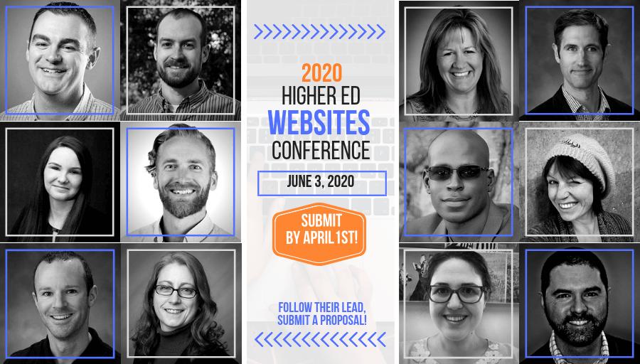 2020 Higher Ed Websites Conference
